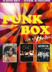 VARIOUS  - 3xDVD FUNK BOX LIVE ..
