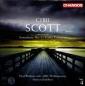 SCOTT CHRISTIAN  - CD SYMPHONY NO.1, CELLO CONCERTO,