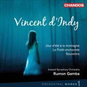 D'INDY V  - CD ORCHESTRAL WORKS VOLUME 1 /LA