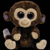 VARIOUS  - Plyš očka opice velká tmavě hnědá [CZE]
