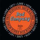 BAD COMPANY  - LIVE IN CONCERT 1977 & 1979
