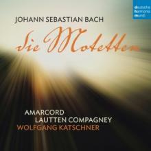 BACH JOHANN SEBASTIAN (1685-1  - CD MOTETTEN BWV 225-230