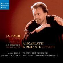 BACH JOHANN SEBASTIAN (1685-1  - CD PSALM 51 BWV 1083..