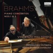 BRAHMS JOHANNES  - 2xCD PIANO CONCERTOS NOS.1 & 2