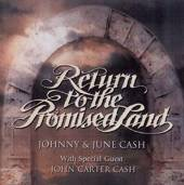 JOHNNY & JUNE CASH  - CD RETURN TO THE PROMISED LAND