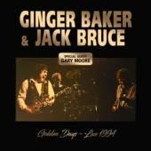 GINGER BAKER & JACK BRUCE  - CD GOLDEN DAYS – LIVE 1994
