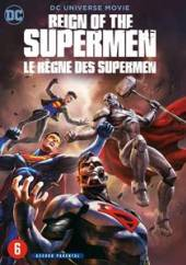 ANIMATION  - DVD REIGN OF THE SUPERMAN