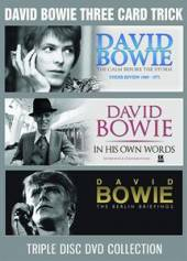 DAVID BOWIE  - DVD THREE CARD TRICK (3DVD)