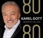 GOTT KAREL  - 4xCD 80/80 NEJVETSI HITY 1964-2019