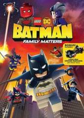ANIMATION  - DVD LEGO BATMAN: FAMILY..