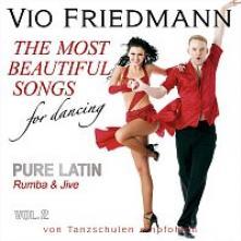 FRIEDMANN VIO  - CD PURE LATIN VOL.2 (RUMBA & JIVE) ?