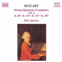EDER QUARTET  - CD MOZART: STRING QUARTETS - VOL 2