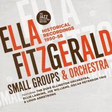 ELLA FITZGERALD  - CD+DVD SMALL GROUPS & ORCHESTRA (2CD)