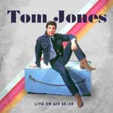 TOM JONES  - CD+DVD LIVE ON AIR 65 - 68