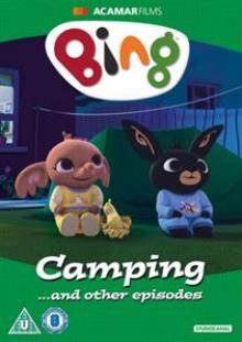 ANIMATION  - DVD BING: CAMPING... AND..
