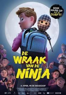 ANIMATION  - DVD WRAAK VAN DE NINJA