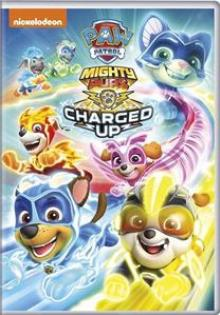 ANIMATION  - DVD PAW PATROL: MIGHTY PUPS..