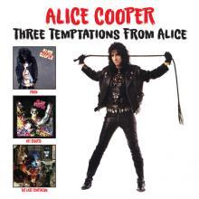 ALICE COOPER  - CD+DVD THREE TEMPTAT..