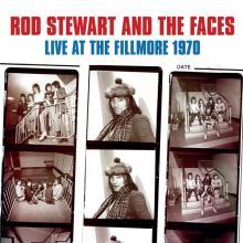 ROD STEWART AND THE FACES  - CD+DVD LIVE AT THE FILLMORE 1970