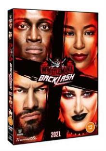 WWE  - DVD WRESTLEMANIA BACKLASH 2021