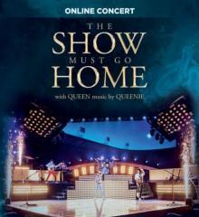 QUEENIE  - DVD THE SHOW MUST GO HOME BY QUEENIE