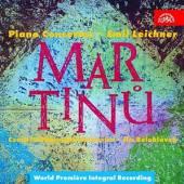 2xCD Leichner Emil Ceska Filharmonie/beloh Martinu : koncerty pro klavir a orches
