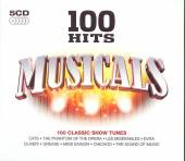 5xCD Various Various: 5xCD 100 hits musicals