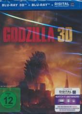 BRD Godzilla (2014) (3d & 2d blu Godzilla (2014) (3d & 2d blu: BRD Ray)