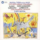 CD  Perlman Itzhak/labeque/zubin Mehta Saint-saens: carnival of the animals, pr