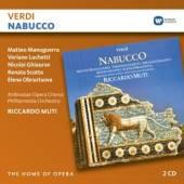 2xCD Manuguerra/lucchetti/muti/phil Verdi: nabucco