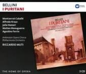 3xCD Caballe/kraus/muti/philharmoni Bellini: i puritani
