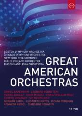 DVD Chicago Symphony Orchestra/boston Sympho Great american orchestras