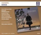 3xCD Christie/arts Florissants/von Handel: serse