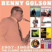 4xCD Benny Golson The classic albums collection: 1957 - 1962 (4cd)