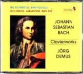 CD Demus Jorg Bach: clavierworks