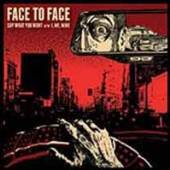 VINYL Face To Face Say what you want [vinyl]