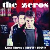 CD Zeros Lost boys: 1977-79