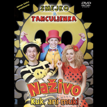DVD Smejko a tanculienka DVD Smejko a tanculienka Nazivo / kuk, ani muk!