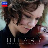 VINYL Hahn Hilary 6 partitas by anton garcia abril [vinyl]
