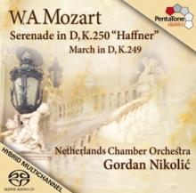 SCD Nikolic Gordan NiederlĂŽndisch Haffner-serenade kv 250/marsch in d-dur kv 24
