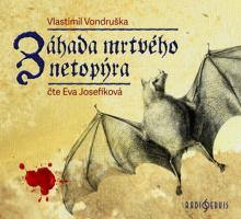CD Josefikova Eva Vondruska: zahada mrtveho netopyra (mp3-cd)